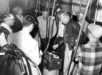 Milking machine school, 1959